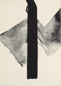 Shinoda Toko, Unseen Forms, 1968, Lithograph, 9/100