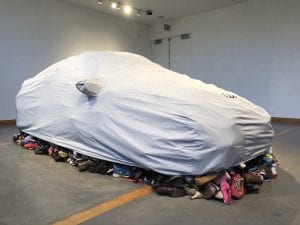 Karyn Olivier, Car Cover and Export Shoes, 2018
