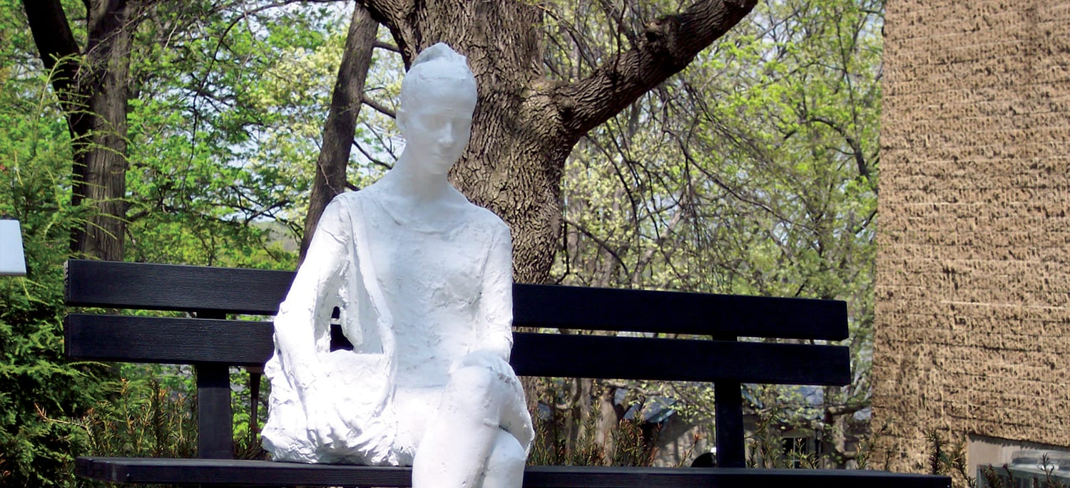 Sculpture by George Segal