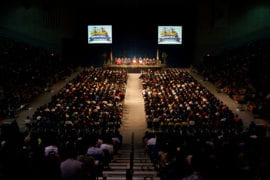 New Students welcomed by University Leaders