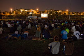 """""""Screen on the Green"""" event"""