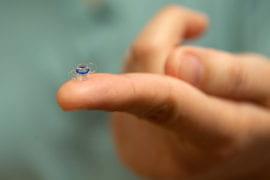 Miniature Telescope on a fingertip