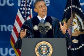 Obama at 2014 Commencement
