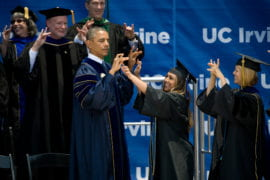 Obama at Commencement 2014