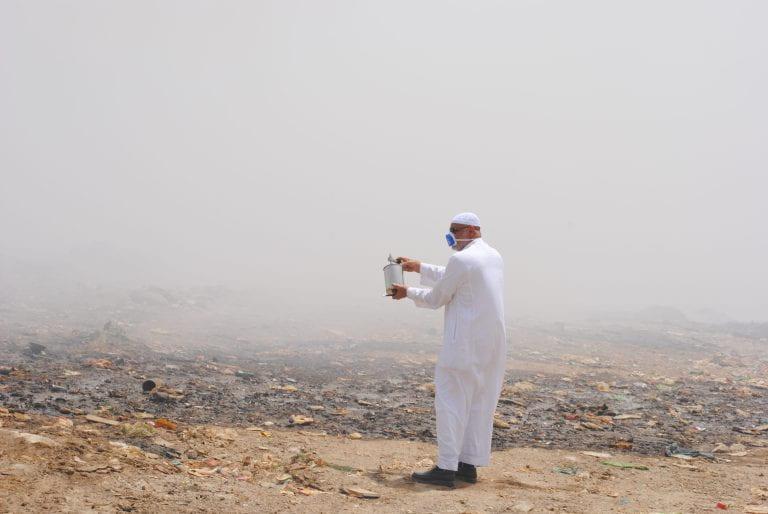 Hazy road to Mecca