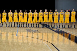 UC Irvine Men's Basketball team