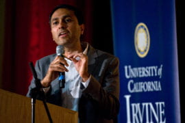 Eboo Patel speaks at Living Peace Series
