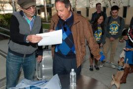 Jon Lovitz with Robert Cohen