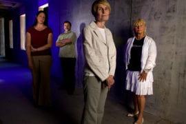 Sarah Eichhorn, Michael Dennin, Joanne Christopherson and Zuzana Bic