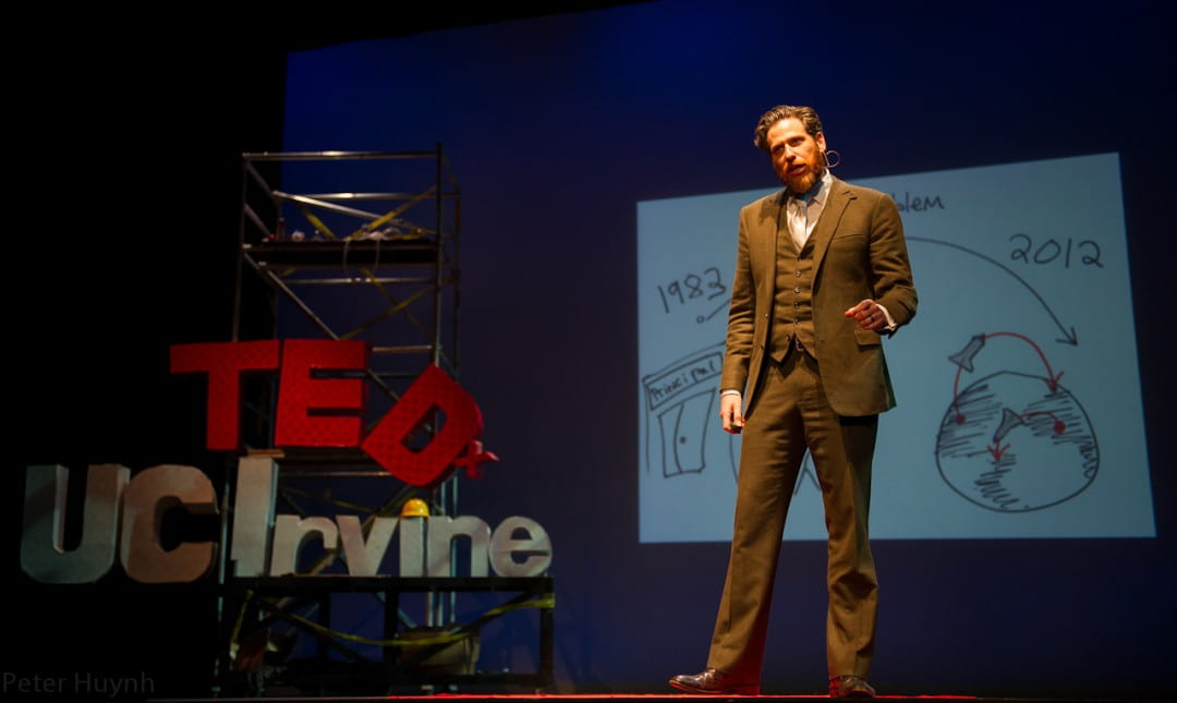 Sasha Strauss at TEDxUCI