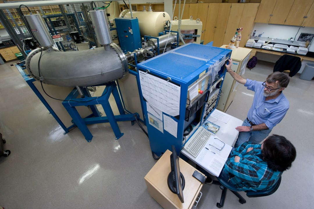 W.M. Keck Carbon Cycle Accelerator Mass Spectrometry Laboratory