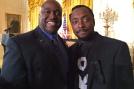 Gregory Washington with will.i.am