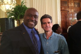 Greg Washington with Dean Kamen