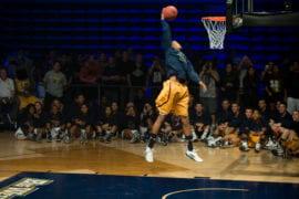 Will Davis slam dunking