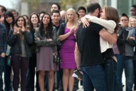 Jeremy Sharib hugging with fiancee Ali Laks