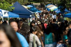 UC Irvine Involvement Fair