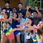 SPOP staff lead freshmen in icebreaker activities