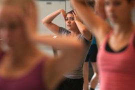 Alicia Delgadilo leads rehearsal