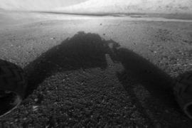 Images of Mars from Curiosity