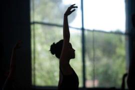 UCI Ballet student