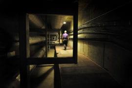 UCI's underground tunnels