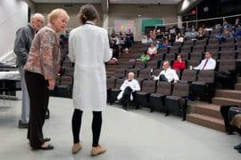 Stu Erickson, Judy Jones and Malia Wright