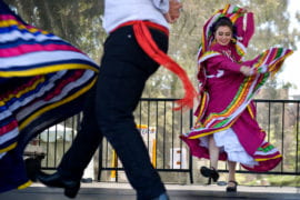 Ballet Folklorico at the Wayzgoose festival
