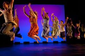 "Dancers perform ""Shaker Life"""