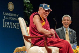 The Dalai Lama at UCI