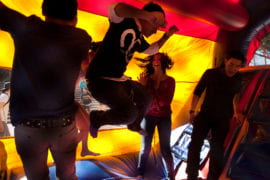 A bounce house for students