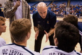 UCI men's volleyball coach John Speraw