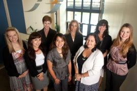 Patricia Devoe, Cecilia Preciado, Ivonne Martinez-Shepard and Tanya Zabalegui, as well as Ann DiPlacito, Angela Duby, Jessie Steward and Carlin Motley