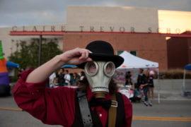 Julian Dillon in a steampunk costume