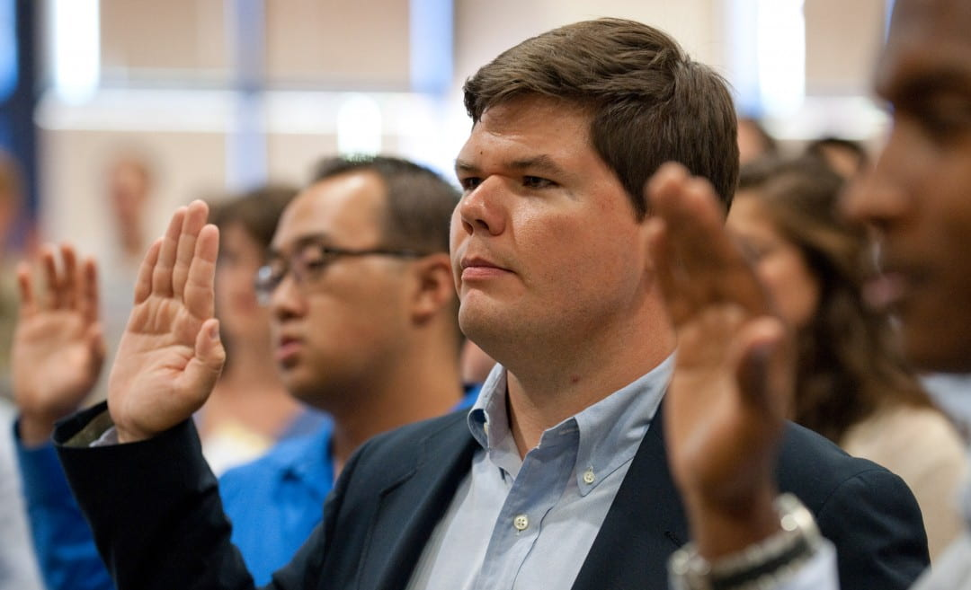 Jack Williams takes oath of civility