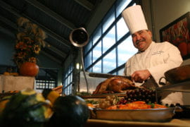 'Eaters on campus for T-Day still get feast