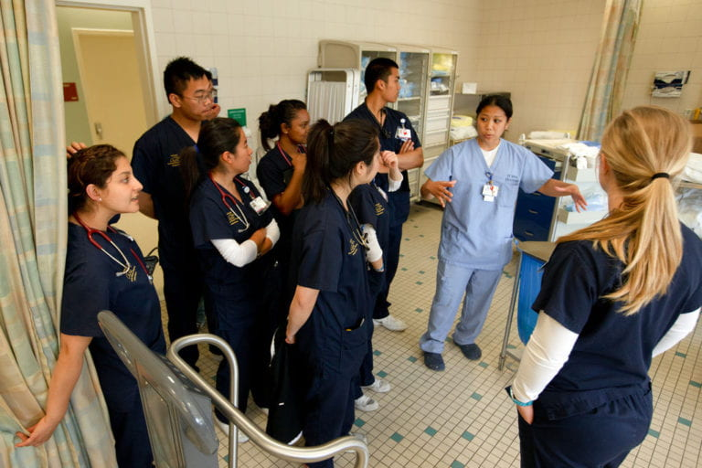 Nursing science program readies for future of healthcare