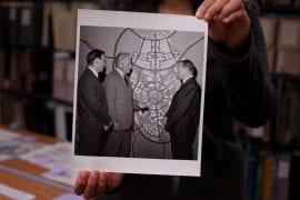 Libraries exhibit traces Irvine's evolution