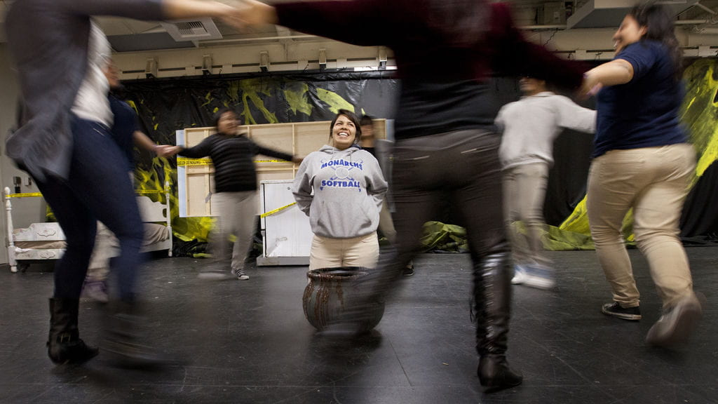 UCI drama students take on mentoring role