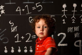 Kids skilled early in math do better in school