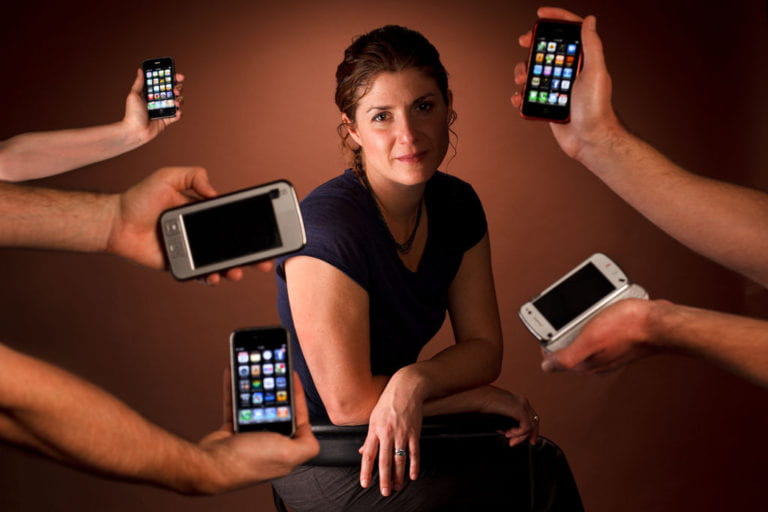 Studying the role of smartphones in daily life