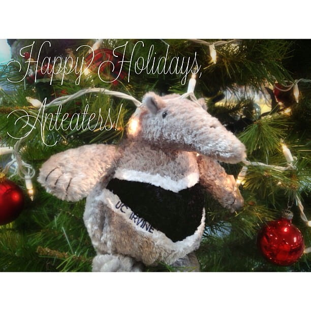 Happy holidays from UCI