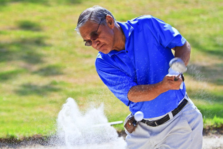 Surgical team puts golfer back in the swing