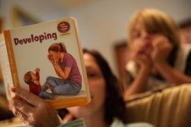 Baby books can boost home safety, study finds
