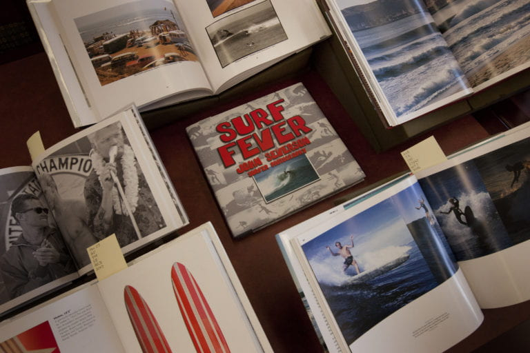 Library collection documents local surf culture