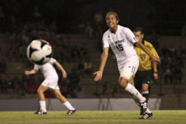 UCI soccer forward Mar Rodriguez
