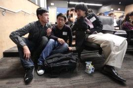 James Lin, Ai Nguyen and Dani Ahmed