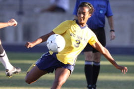 Women's soccer beats Wake Forest to advance to Sweet 16 for first time