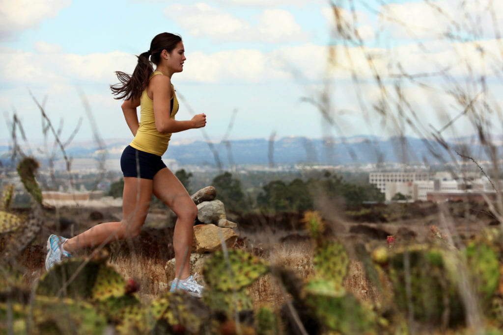 Cross-country captain goes the distance for pediatric research