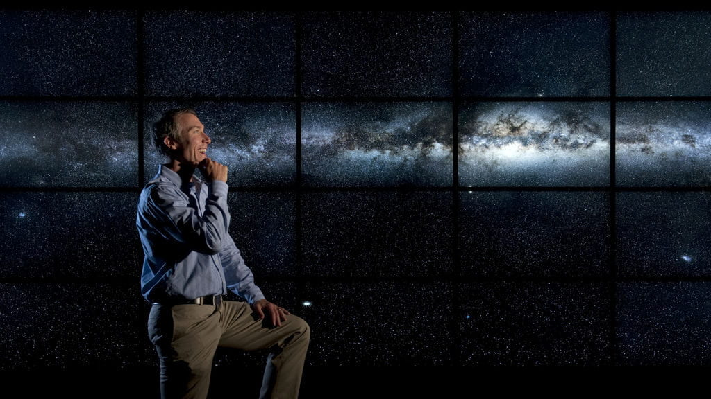 UCI cosmologist gives TV audiences a tour of Milky Way