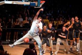 Russell Turner slam dunks